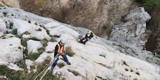 Zwei Kletterer in Not auf der Hohen Wand gerettet