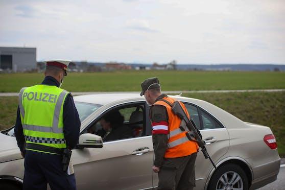 Seit Montag gibt es im Bezirk Braunau Ausreisekontrollen.