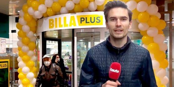 """Merkur heißt jetzt Billa Plus – der große """"Heute""""-Report"""