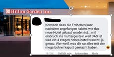 Hotel in Wr. Neustadt reagiert auf Erdbeben-Vorwürfe