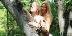 Schamanin Elena hat auf ATV Sex mit Baum