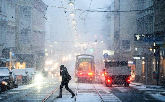 Im April gab es sogar in Wien noch Schneefall.
