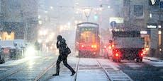 Ampeln in Wien nach Schnee-Unwetter ausgefallen