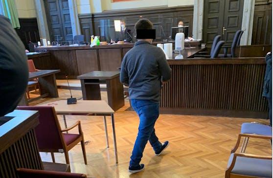 Der angeklagte Jungbauer