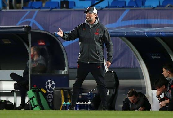 Liverpool-Coach Jürgen Klopp mit einem Seitenhieb gegen Real.