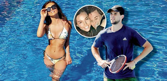 Dominic Thiem verbrachte Ostern mit Freundin Lili Paul-Roncalli auf Mallorca.