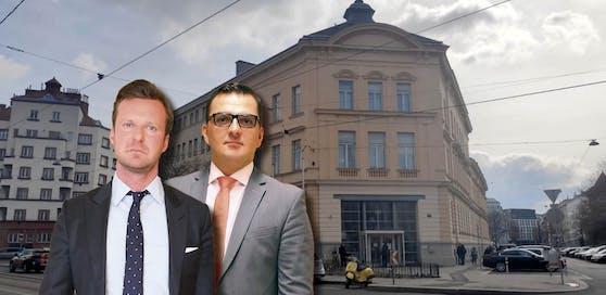 Spürhunde in Wiener Gericht: Philipp Wolm und Mirsad Musliu verteidigten in der delikaten Causa