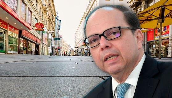 Ärztekammer-Chef Thomas Szekeres fordert harten Lockdown in allen 9 Bundesländern.