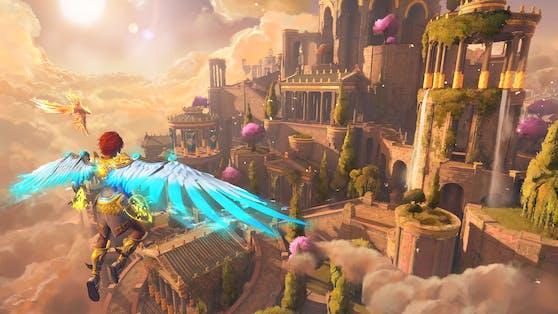 """Sieht fantastisch aus: Der """"Ein neuer Gott""""-DLC von """"Immortals Fenyx Rising""""."""