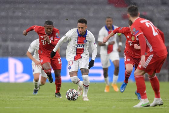 Neymar gegen David Alaba