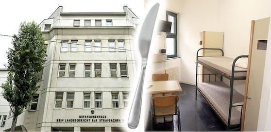 In der Justizanstalt Josefstadt kam es zur Tat.
