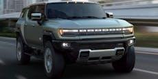 Rückkehr einer Legende: Der neue GMC Hummer EV SUV
