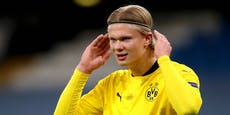 """""""Schön hier!"""" Haaland sorgt für neuen Transfer-Wirbel"""