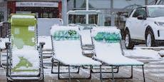 Skandinavientief bringt Schnee nach Österreich