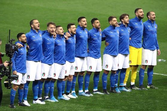 Sieben Corona-Fälle bei der italienischen Nationalmannschaft.
