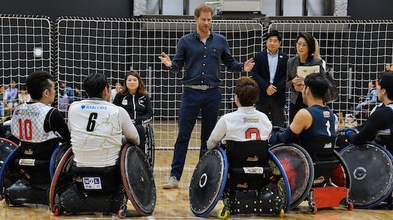 """Prinz Harry produziert mit """"Heart of Invictus"""" seine erste Doku für Netflix über den paraolympischen Sportwettbewerb."""