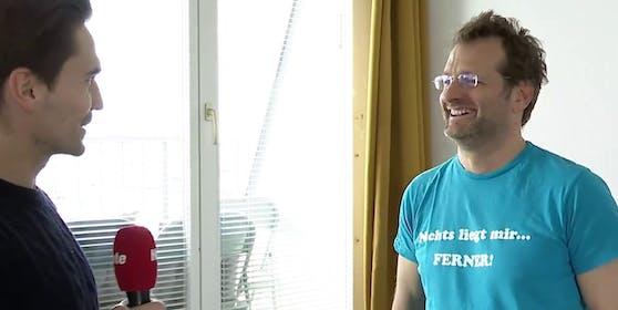 Comedian und Lehrer Andi Ferner im Interview