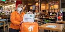 Supermarktkette startet mit Essens-Lieferservice durch