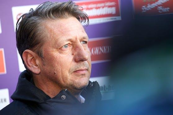 Zoran Barisic über die Favoritenrolle von Red Bull Salzburg.