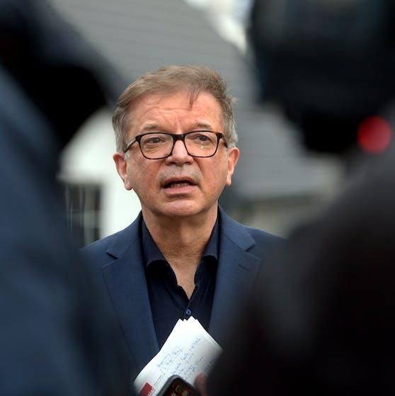 Erneut im Krankenstand: Gesundheitsminister Rudi Anschober.