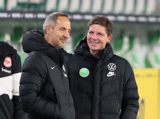 Adi Hütter und Oliver Glasner