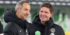 Glasner wird Hütter-Nachfolger bei Eintracht Frankfurt