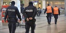Flaschen-Attacke auf Security am Westbahnhof