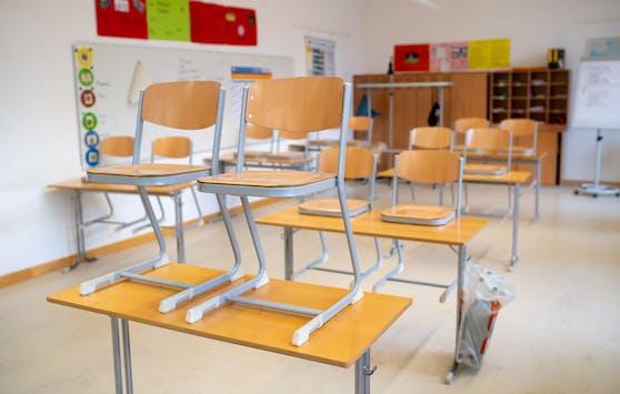 Ein leeres Klassenzimmer. (Symbolbild)