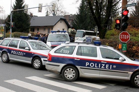 In Salzburg musste am Sonntag die Polizei ausrücken. Symbolbild.
