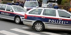 Vater trat vor Augen des Kindes nach Polizisten
