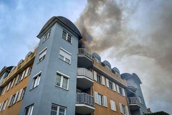 Wohnungsbrand in Groß-Enzersdorf
