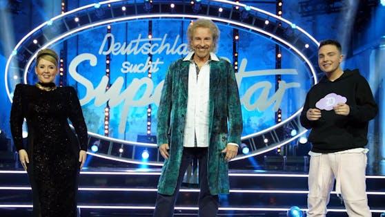 Thomas Gottschalk (Mitte) sprang in den letzten DSDS-Ausgaben für Dieter Bohlen ein, kehrt der Castingshow nach dem Finale aber trotzdem den Rücken.