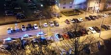 Wiener Polizei sprengt Drogenparty, Gastgeber zuckt aus