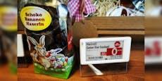 Verschenkt Billa Plus übergebliebene Osterschokolade?