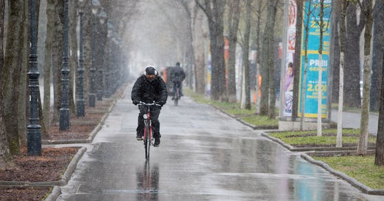 Der April beschert uns beim Wetter ein ständiges Auf und Ab.