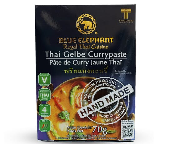 Yellow Curry Blue Elephant