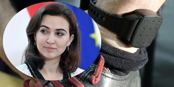 Justizministerin Zadic will denelektronisch überwachten Hausarrest mittels Fußfessel auf bis zu zwei Jahre ausweiten.