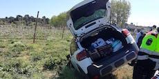 Geisterfahrer hatte stark verweste Leiche im Auto