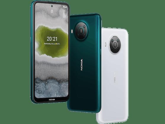 Eines der neuen Flaggschiffe: Das neue Nokia X10.