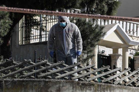 Giorgos Karaivaz wurde vor seinem Haus in Athen getötet.