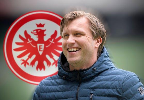 Markus Krösche übernimmt in Frankfurt.