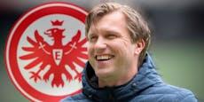 Fix! Bullen-Manager wird Bobic-Nachfolger in Frankfurt