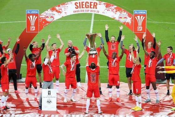 Red Bull Salzburg will die Trophäensammlung erweitern.