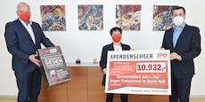 11.000 Euro für Kinder in Armut im Raum Melk gesammelt