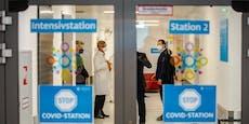 Kurz und Kogler besuchten Wiener Corona-Intensivstation