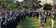 Elf Festnahmen bei Mai-Kundgebung im Votivpark