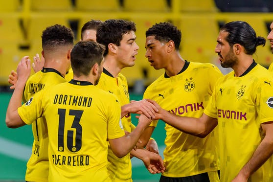 Borussia Dortmund shießt sich ins DFB-Pokalfinale.