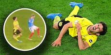 BVB-Spieler stürzt bei 5:0-Cuperfolg schreiend zu Boden