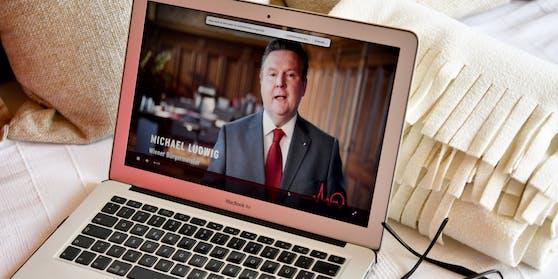 Die SPÖ - im Bild: Wiens Bürgermeister Michael Ludwig - begeht die Feiern zum 1. Mai wieder nur virtuell.