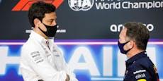 """Red-Bull-Boss ätzt: """"Wolff denkt, dass er alles weiß"""""""